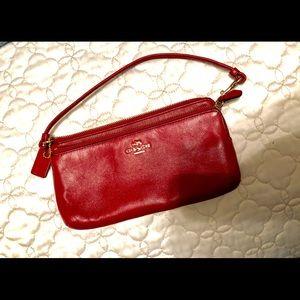 Vintage Coach Wristlet Wallet
